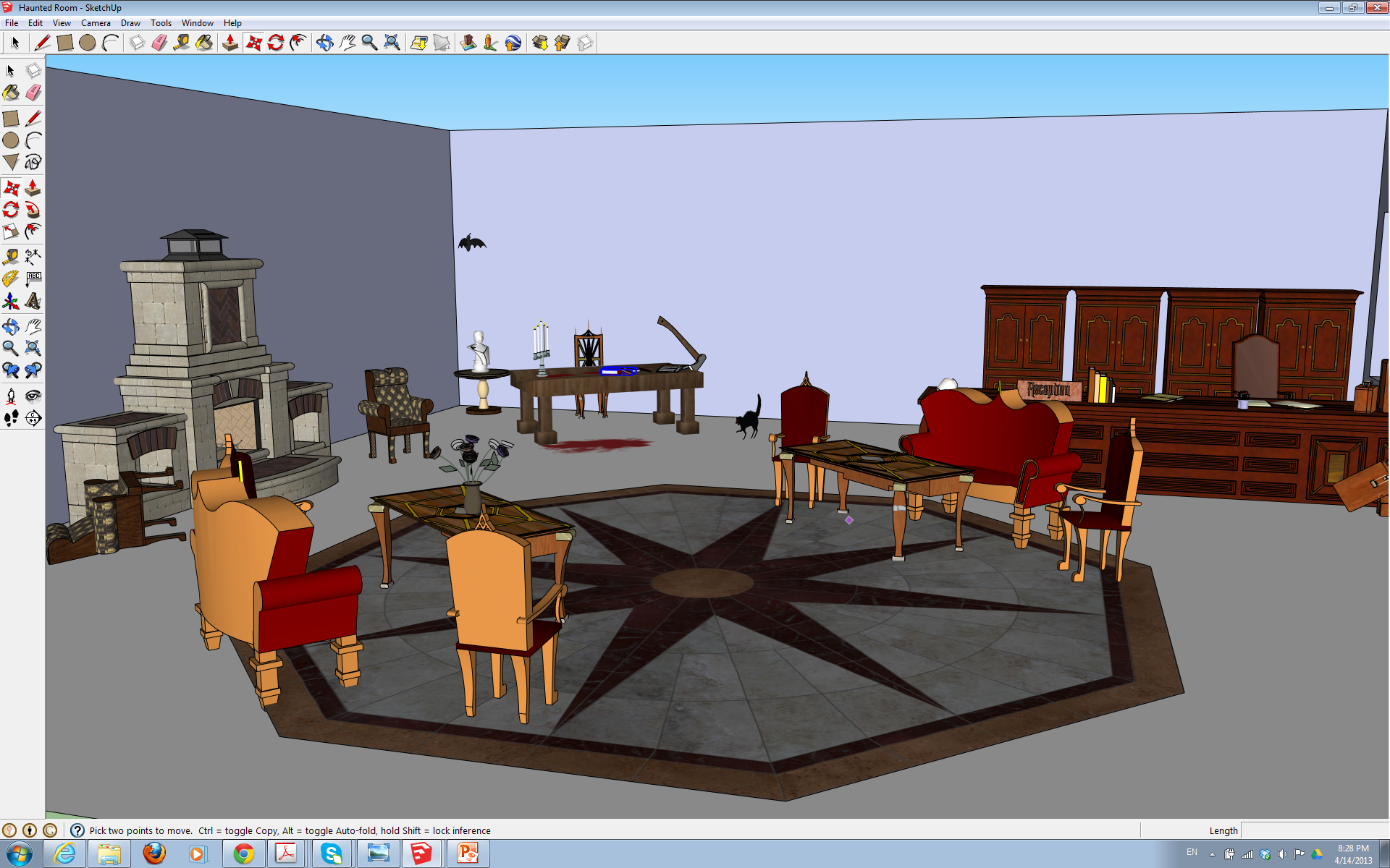 House ds 501 design in virtual reality for Home design virtual reality