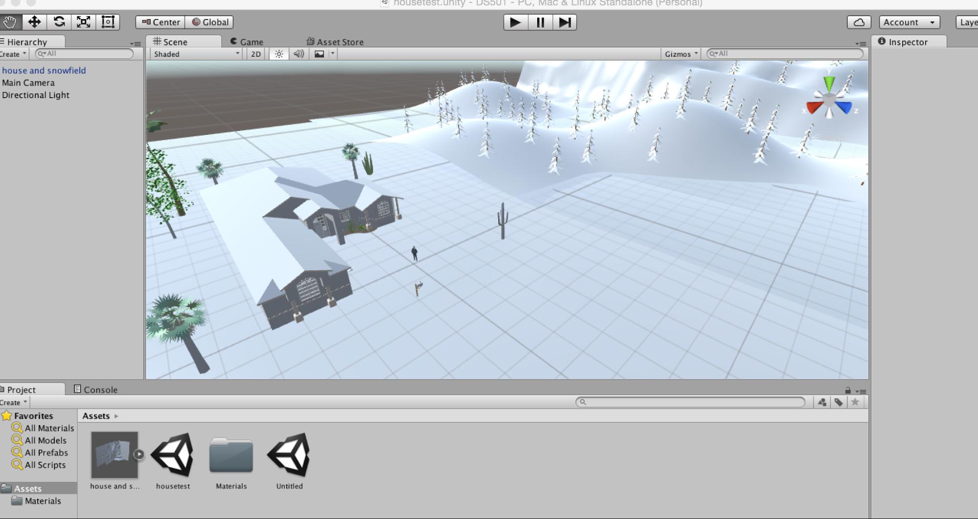 Eco Nut: Week 2 – Design in Virtual Reality