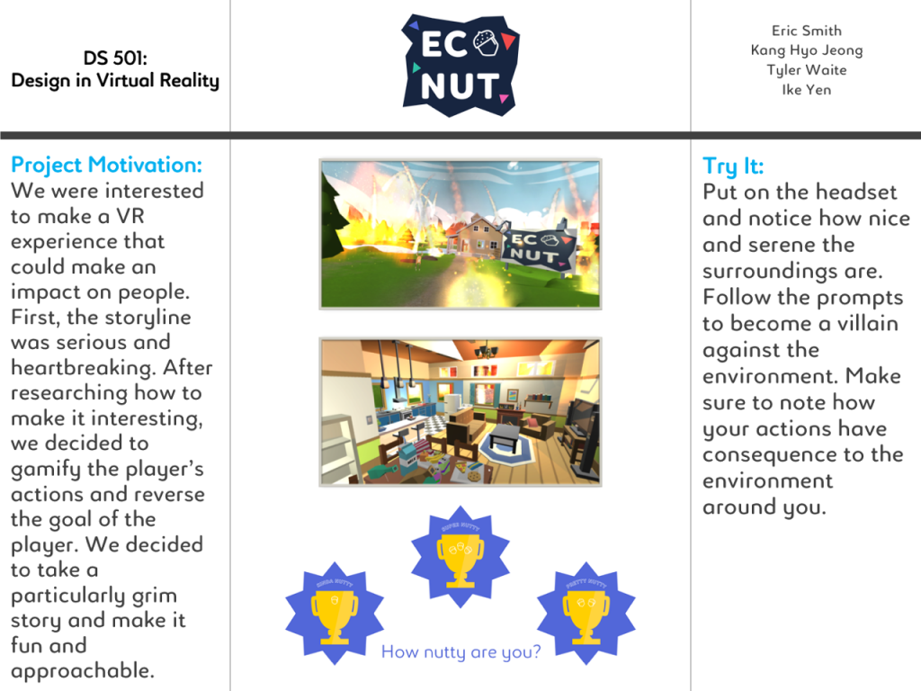 Eco Nut Open House Poster